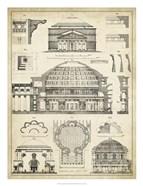 Vintage Architect's Plan III