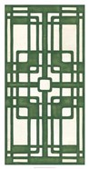 Non-Embellished Emerald Deco Panel I