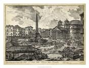 Veduta della Piazza della Rotunda