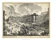 Veduta di Piazza di Spagna