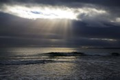 Sun Shining through Dark Clouds, Lady's Cove, The Copper Coast, County Waterford, Ireland