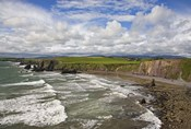 Ballydowane Cove on the Copper Coast, County Waterford, Ireland