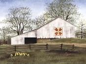 Tulip Quilt Block Barn