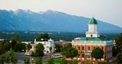 Salt Lake City Council Hall, Capitol Hill, Salt Lake City, Utah, USA