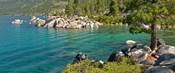 Boulders at Sand Harbor, Lake Tahoe, Nevada, USA