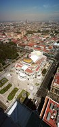 High angle view of Palacio de Bellas Artes, Mexico City, Mexico