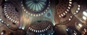 Panoramic Images of a Blue Mosque, Istanbul, Turkey