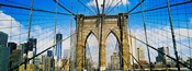 Brooklyn Bridge with Freedom Tower, New York City, New York State