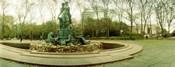 Fountain in a park, Bailey Fountain, Grand Army Plaza, Brooklyn, New York City, New York State, USA