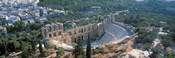 Ode'on tu Herodu Att'ku the Acropolis Athens Greece