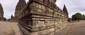 Carving Details on 9th century Hindu temple, Indonesia