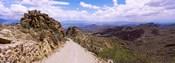 Clouds over the Tucson Mountain Park, Tucson, Arizona