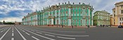 Parade Ground in front of a museum, Winter Palace, State Hermitage Museum, Palace Square, St. Petersburg, Russia