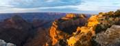 Wotans Throne from Cape Royal, North Rim, Grand Canyon National Park, Arizona, USA