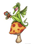 Toadstool Sitter - Dragon