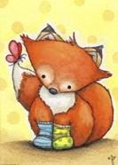Little Fox in Socks