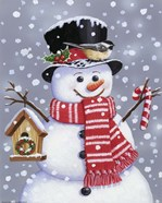 Snowman With Tophat