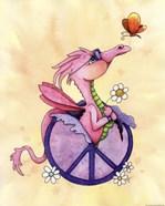 Flower Power Dragon