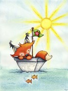 Little Fox at Sea