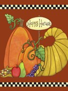 Happy Harvest Cornucopia