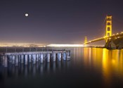 Golden Gate Pier and Stars