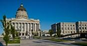 Facade of a Government Building, Utah State Capitol Building, Salt Lake City, Utah