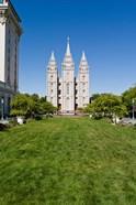 Mormon Temple, Temple Square, Salt Lake City, Utah