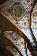 Vaulted ceiling of the Antiquarium, Residenz, Munich, Bavaria, Germany
