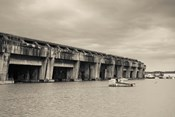 World War Two-era Nazi submarine base now an art gallery, Bordeaux, Gironde, Aquitaine, France