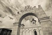 Entrance of a Winery, Chateau Cos d'Estournel, St-Estephe, Haut Medoc, Gironde, Aquitaine, France