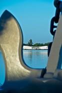 Sculpture of an Anchor, USS Arizona Memorial, Pearl Harbor, Honolulu, Oahu, Hawaii