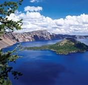 Crater Lake at Crater Lake National Park, Oregon