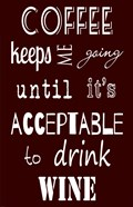 Acceptable to Drink Wine