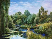 Monet Garden I
