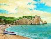 The Beach At Etreta