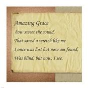 Amazing Grace Parchment