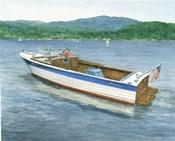 Chris Craft On The Lake
