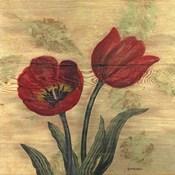 Tulip on Wood