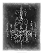 Chalkboard Chandelier Sketch II