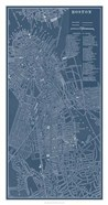Graphic Map of Boston