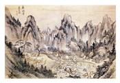 Pyohun Temple at Diamond Mountains