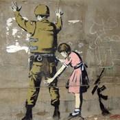 Bethlehem Wall Graffiti