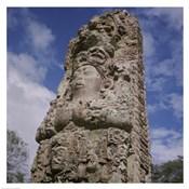 Stelae Copan Mayan Honduras