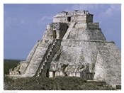 Mayan Pyramid of the Magician Uxmal