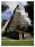 Facade of the Temple of the Great Jaguar, Tikal