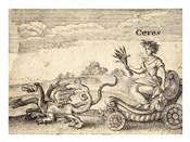 The Greek God Ceres