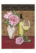 Vintage Flowers & Wine II