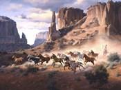 Sandstone & Stolen Horses