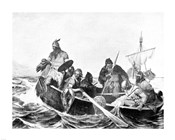 Norsemen Landing in Iceland
