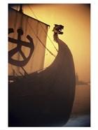 A ancient Viking Ship, Sweden